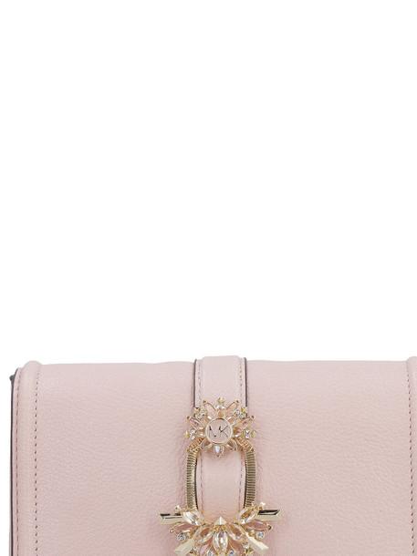 Michael Kors Embellished Clutch Bag in pink