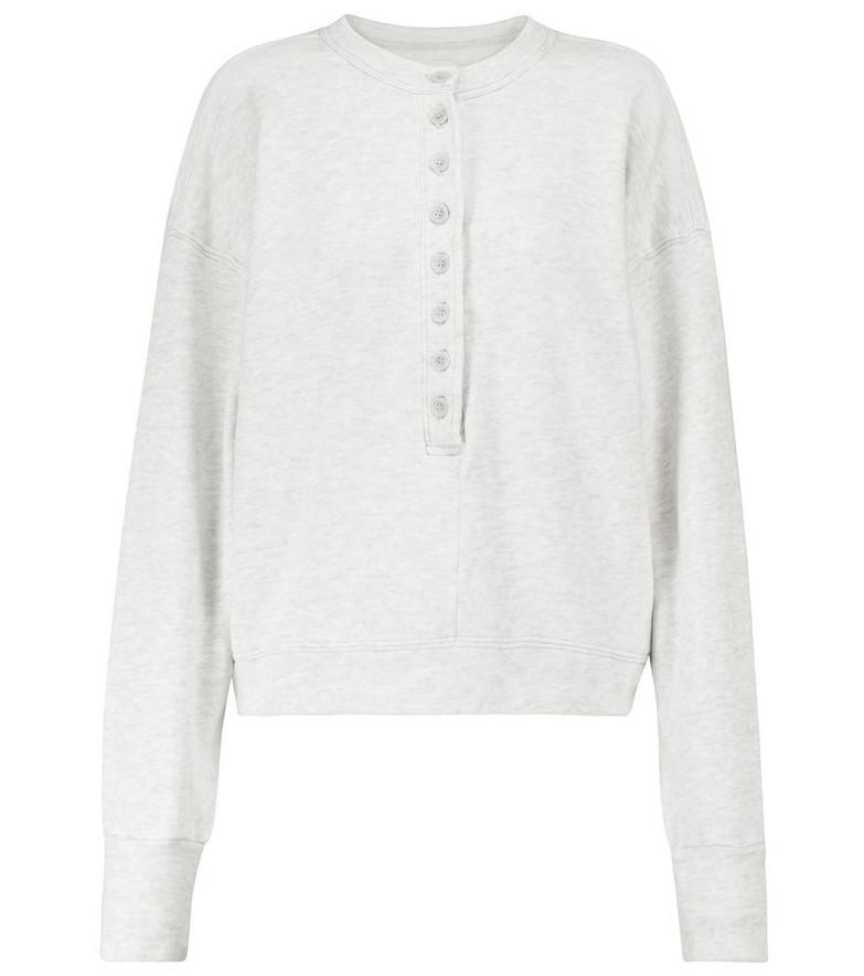 Citizens of Humanity Cora cotton sweatshirt in grey