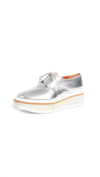 Clergerie Brook Oxfords in silver