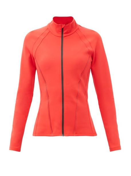 Ernest Leoty - Roxane High-neck Soft-shell Jacket - Womens - Red