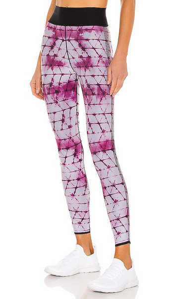 ultracor Shibori Ultra High Legging in Pink in violet / print