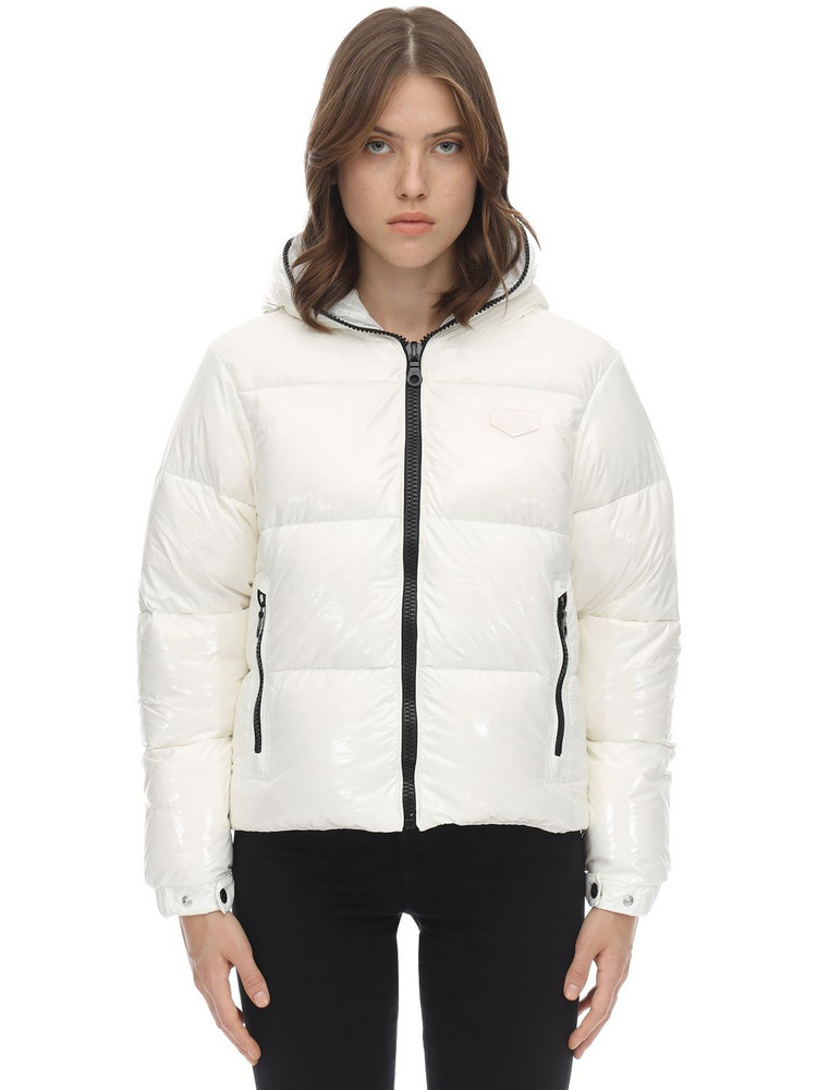 DUVETICA Bellatrixdue Nylon Down Jacket in white