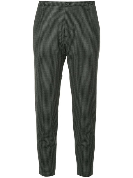 Hope Krissy checked trousers in grey