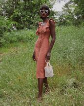 bag,sunglasses,dress
