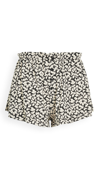 THE GREAT. THE GREAT. The Tap Shorts in black