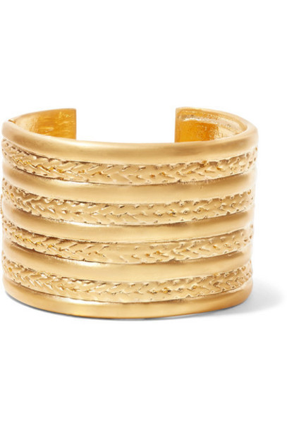Kenneth Jay Lane - Gold-tone Cuff
