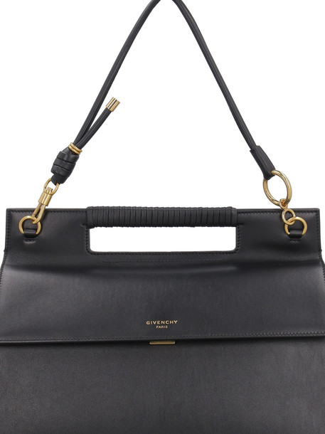 Givenchy Whip Leather Handbag in black