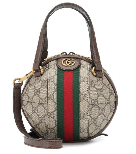 Gucci Ophidia GG Mini shoulder bag in beige