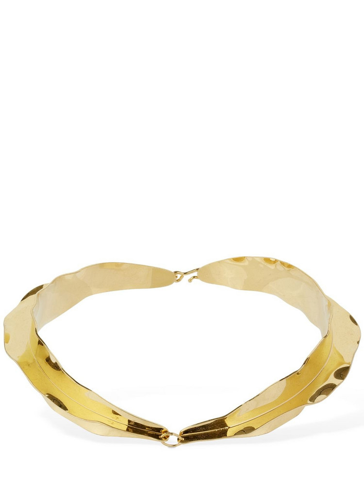 JIL SANDER Proportion Choker in gold
