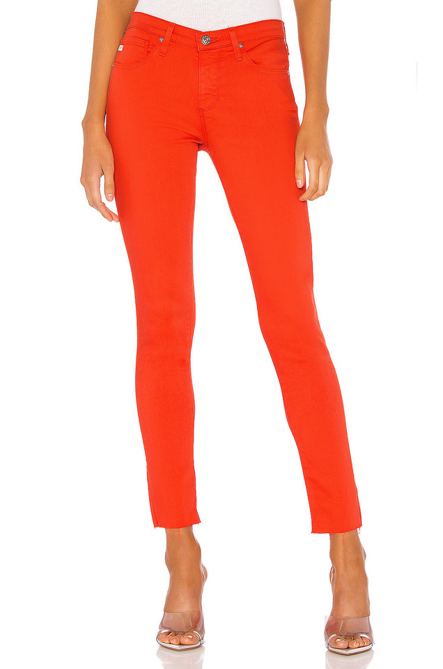 AG Adriano Goldschmied Legging Ankle in coral