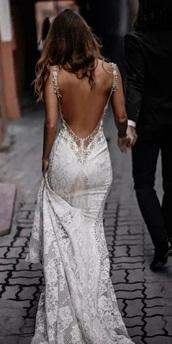 dress,white dress,backless white dress