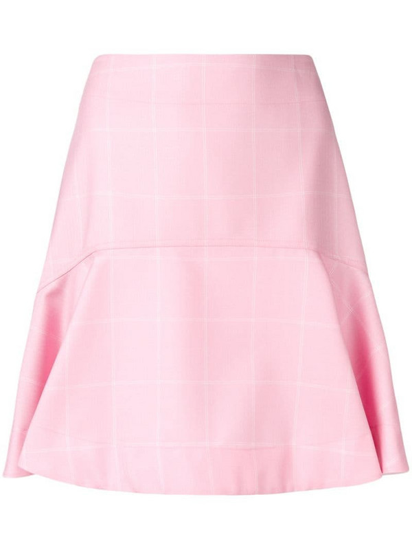 Calvin Klein 205W39nyc high waisted flared skirt in pink