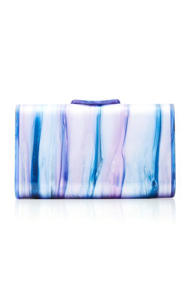 Edie Parker Mini Laura Tie-Dye Acrylic Clutch in multi