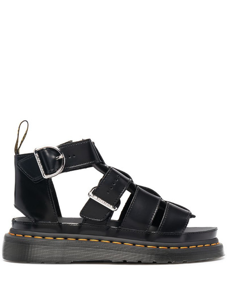 Dr. Martens chunky-soled strappy sandals in black