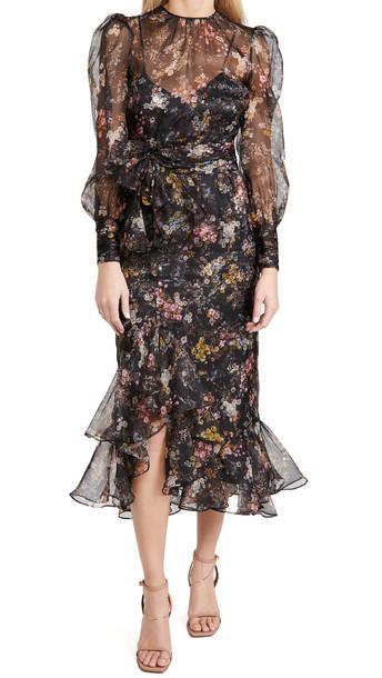 Cinq a Sept Marianne Dress in black / multi