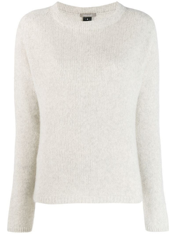 Suzusan Crossed Out jumper in grey