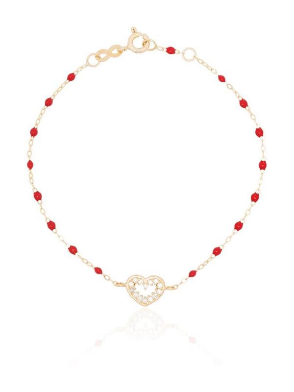 Gigi Clozeau 18K yellow gold Heart Supreme diamond bracelet