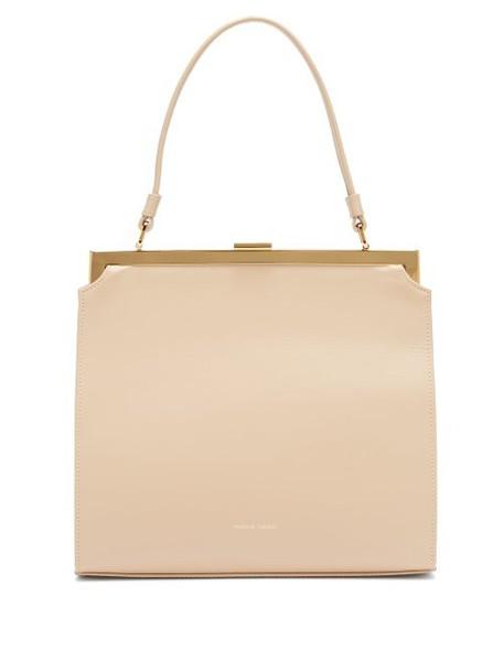 Mansur Gavriel - Elegant Leather Bag - Womens - Beige
