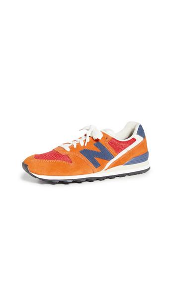 New Balance 996 V2 Sneakers in orange