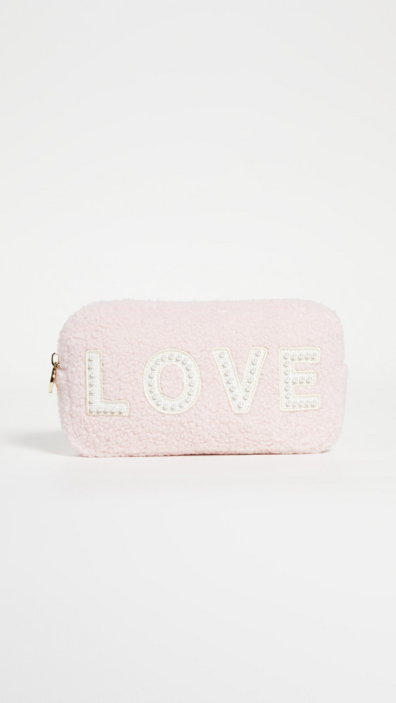 Stoney Clover Lane Cozy Love Pouch in rose