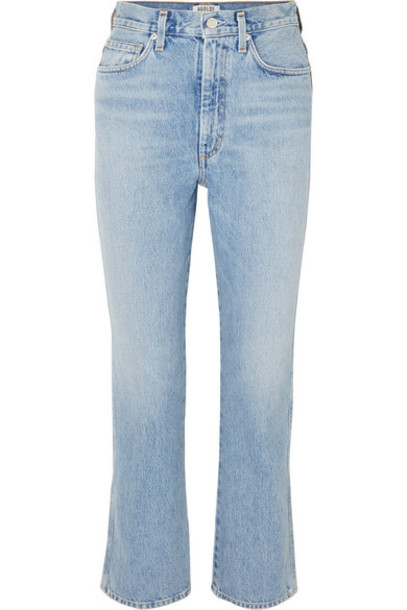 AGOLDE - Pinch Waist High-rise Straight-leg Jeans - Mid denim