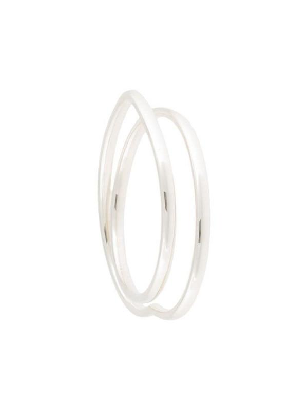 Hermès pre-owned Vertige Coeur bracelet in silver