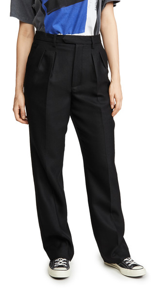 ANINE BING James Trousers in black