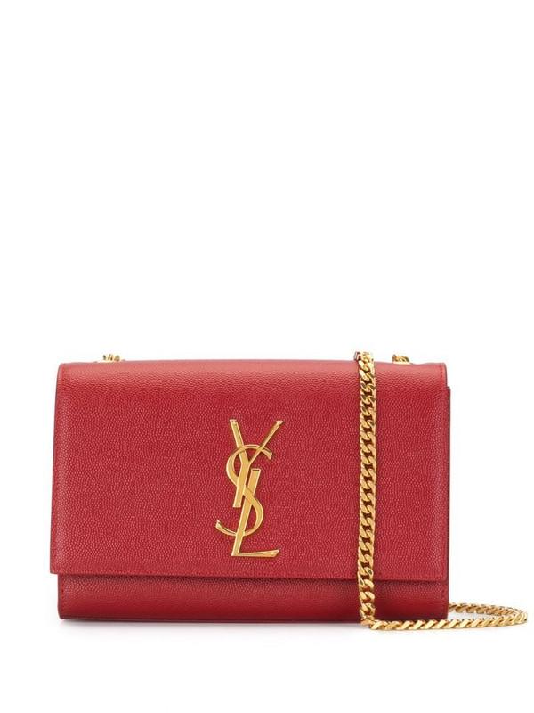 Saint Laurent Kate shoulder bag in red