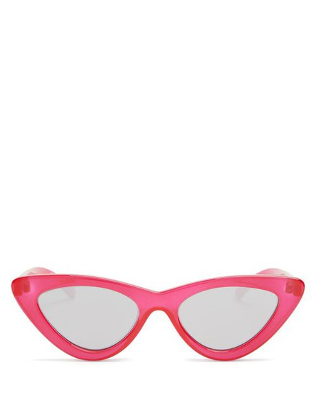Le Specs - The Last Lolita Cat Eye Sunglasses - Womens - Red