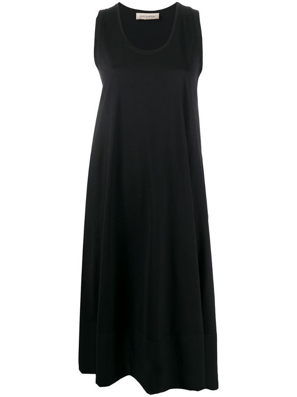 Gentry Portofino sleeveless midi dress in black