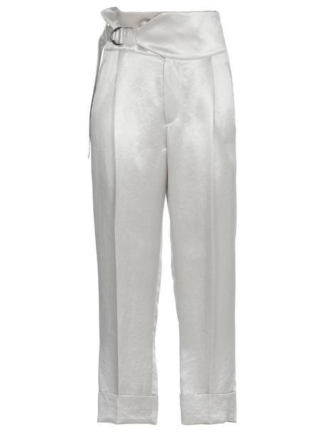 Brunello Cucinelli Cropped Trousers in grey