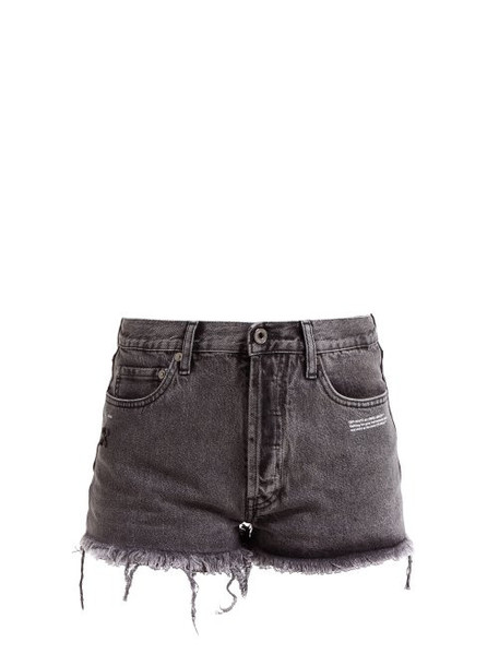 shorts denim shorts denim grey