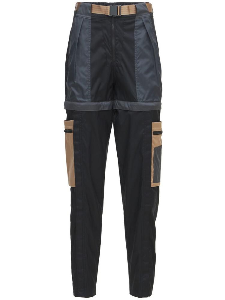 NIKE Jordan Next Utility Pants in black / beige