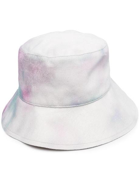 Isabel Marant spray print bucket hat in grey