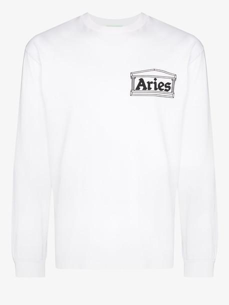 Aries Y2K logo print long sleeve T-shirt
