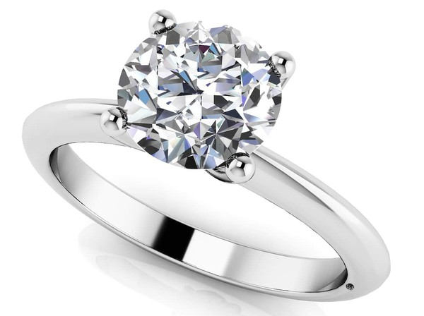 jewels timeless four prong solitaire classic engagement rings diamond engagement rings