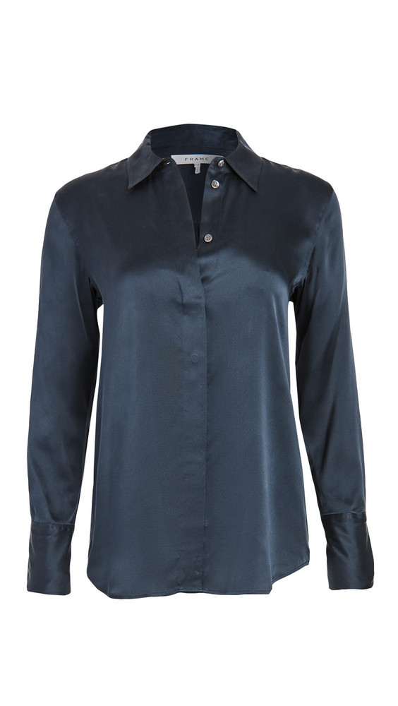FRAME Perfect Shirt in navy