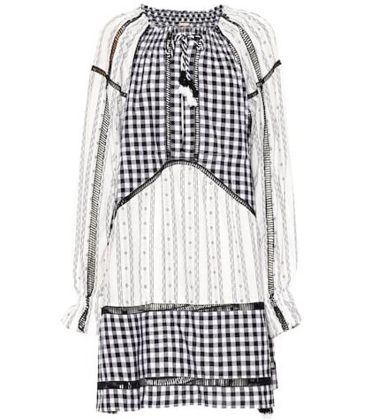 Dodo Bar Or Embroidered cotton midi dress in black