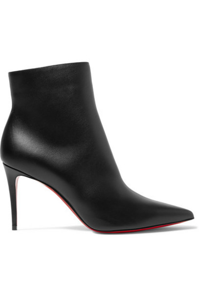 Christian Louboutin - So Kate 85 Leather Ankle Boots - Black
