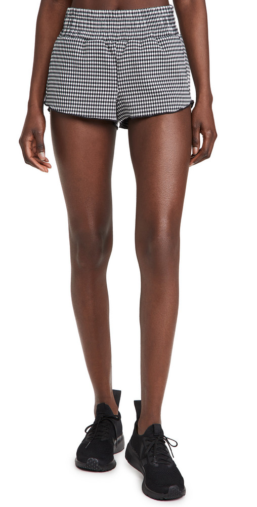 KORAL ACTIVEWEAR Radiant Bedford Shorts in black