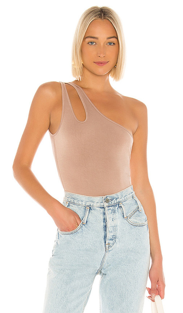 Lovers + Friends Lovers + Friends Baro Bodysuit in Taupe