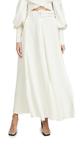 N DUO Vanilla Sky Skirt in white