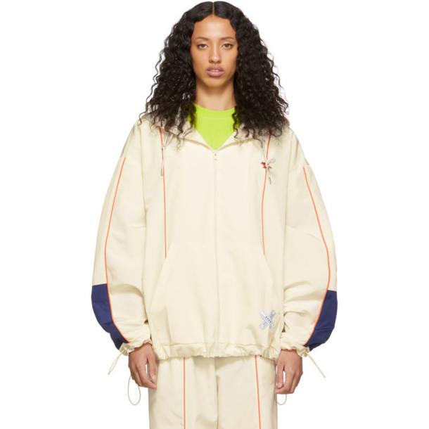 Maison Kitsune Off-White ADER error Edition Line Zip-Up Hoodie Jacket