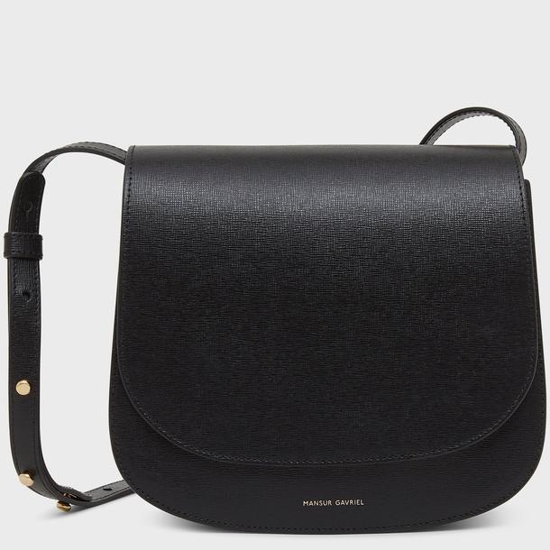 Mansur Gavriel Classic Shoulder Bag - Black