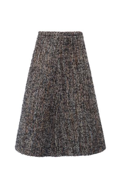 Miu Miu Bouclé-Tweed Skirt Size: 36