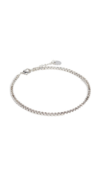 Jules Smith Bling Anklet in silver