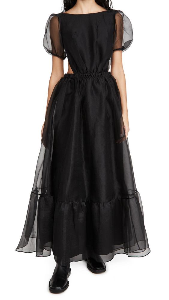 STAUD Penelope Dress in black
