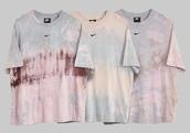 t-shirt,nike,tie dye