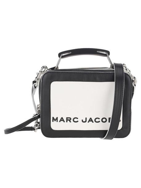 Marc Jacobs The Box 20 Crossbody Bag in black / white