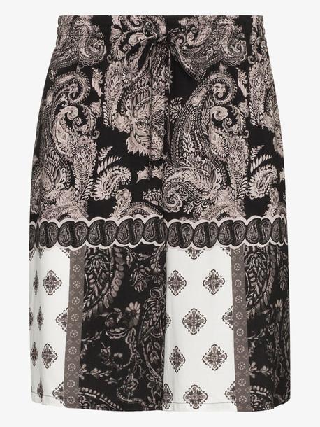 Esteban Cortazar paisley print bermuda shorts